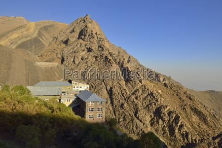 iran tehran province alborz mountains mount