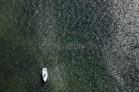 germany view of sailing boat at