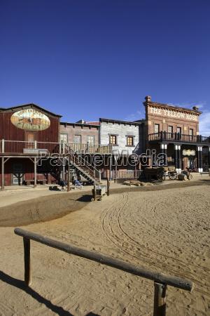 spain film set of wild west