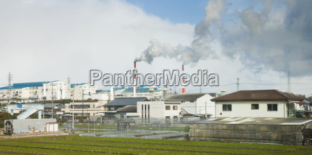japan factory in countryside