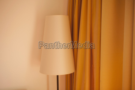 austria lamp and curtain