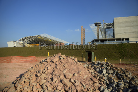 brazil sao paulo district itaquera construction