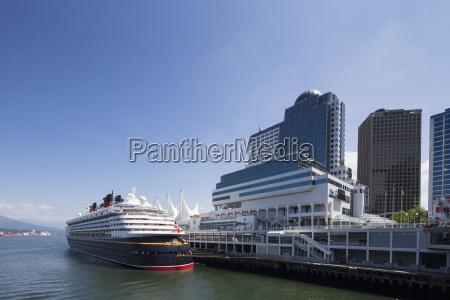 canada british columbia vancouver cruise liner