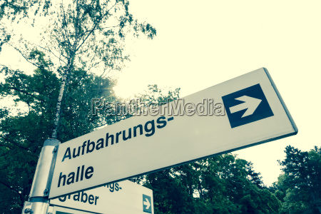 austria upper austria linz cemetery direction