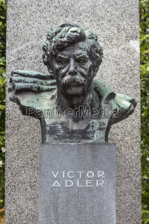 austria vienna bust of viktor adler