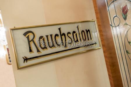 austria sign rauchsalon