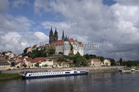 germany saxony meissen albrechtsburg castle and