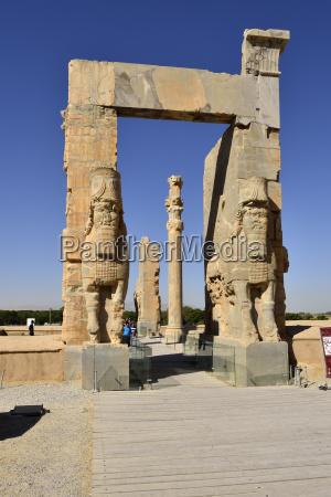 iran achaemenid archeological site of persepolis