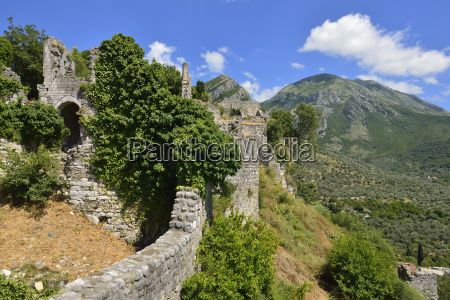 montenegro crna gora rumija mountains city