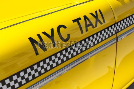 germany bavaria nyc yellow cab close