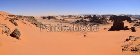 algeria tassili n ajjer tadrart sahara