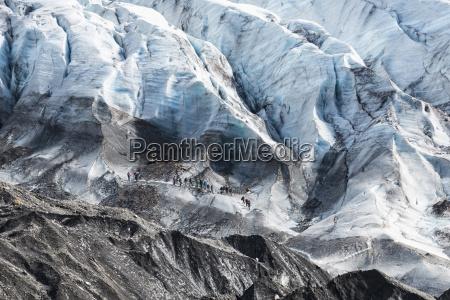 svinafell glacier at iceland