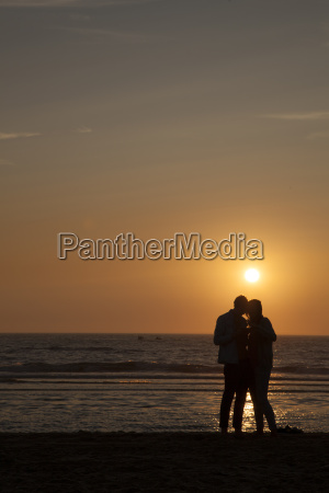 netherlands bloemendaal lovers on beach at
