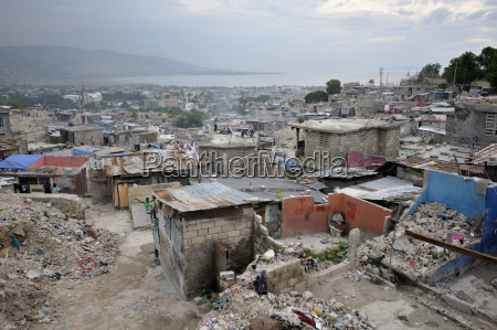 haiti port au prince deprived area