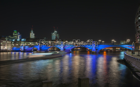 united kingdom england london southwark bridge