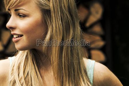germany bavaria munich teenage girl looking