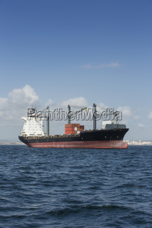 spain andalusia algeciras cargo ship roadstead