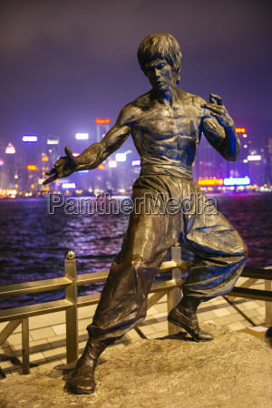 china hong kong bruce lees statue