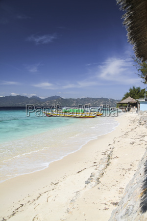 indonesia lombok isle gili air beach