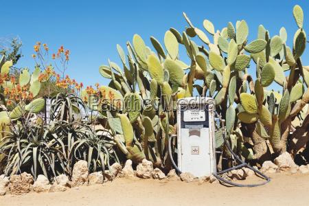 namibia namib desert abandoned gas station