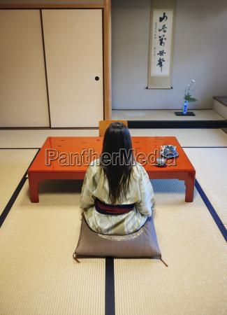 te tradition set bagfra japansk indendors
