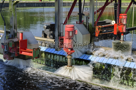 germany baden wurttemberg cleaning of sedimentation