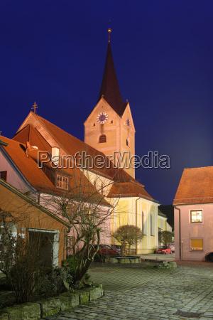germany bavaria view of parish