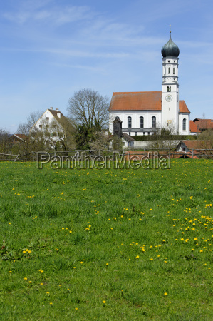 germany view of st laurentius building