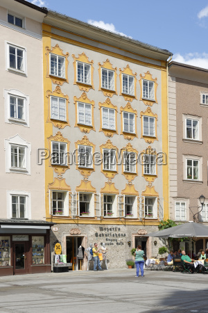 austria salzburg birthplace of wolfgang amadeus