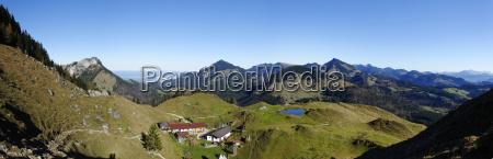 austria tyrol inntal kranzhorn lodge mountain
