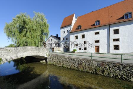 germany upper bavaria moernsheim town hall