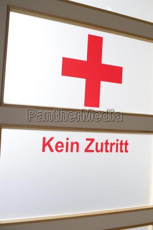 germany bavaria symbol no admittance in
