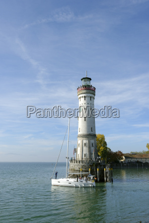 germany, , bavaria, , swabia, , lake, constance, , harbor - 21092671