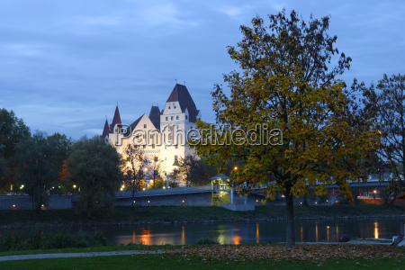 germany bavaria ingolstadt new castle at