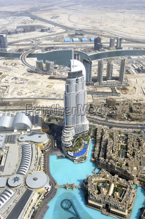 united arab emirates dubai view of