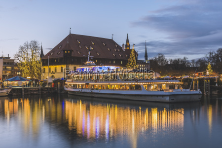 germany constance lake constance christmas market