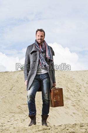 germany bavaria portrait of mature man