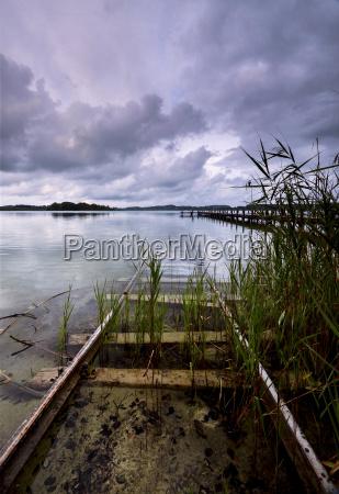 germany bavaria munich lake woerthsee