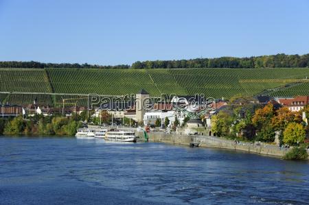 germany bavaria view of river main