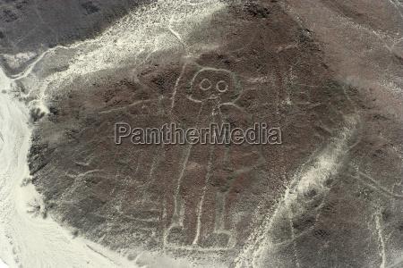 peru ica nasca lines view of