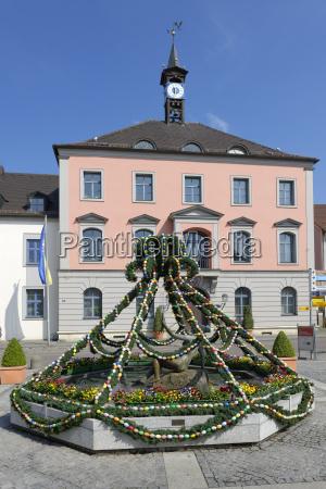 germany bavaria middle franconia treuchtlingen townhall