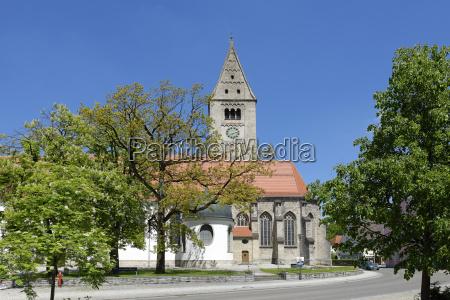 germany bavaria oberguenzburg st martins church