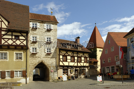 germany bavaria berching middle gate