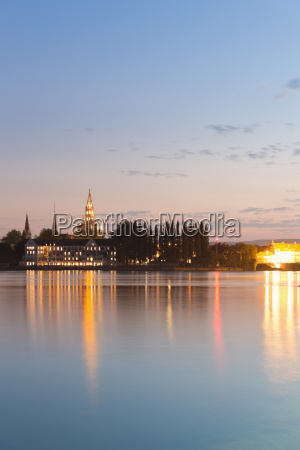 germany baden wuerttemberg constance view of