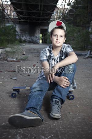 germany berlin young skateboarder