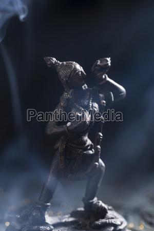 figurine of vajra dakini close up