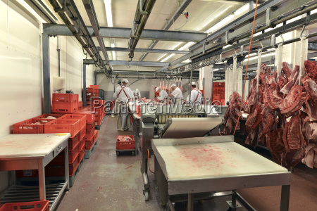 germany saxony anhalt processing of pork