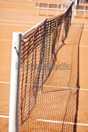 germany munich net at tennis sand