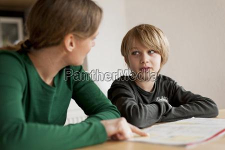 germany rhineland palatinate neuwied woman helping