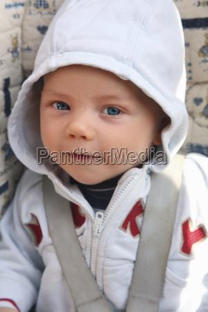 germany bavaria portrait of baby boy